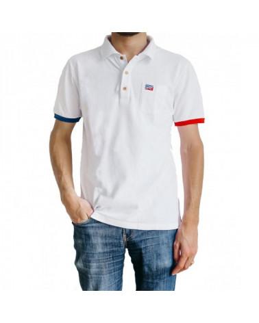 Le polo Blanc Céleste (Homme)